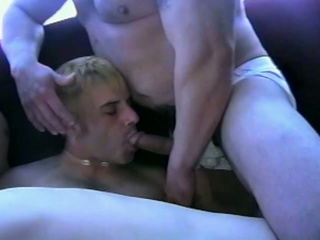 Four gay having a hardcore anal sex !