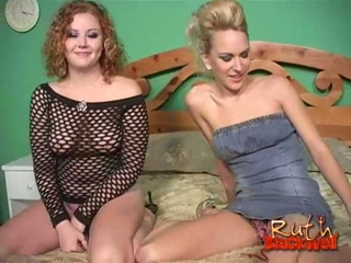 Sexy cum eating whores sharing giant black cock