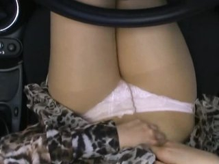Oriental Car Slut Gets Drilled and Creampied in a Convertible Ride