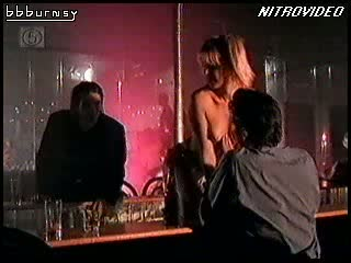 Blonde MILF Amy Lindsay Shows Her Soaked Jugs During a Hot Striptease