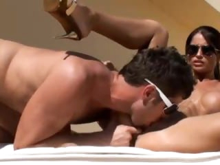 Her intensely tight and sexy body is drilled