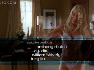 Super Hot Movie scene Of Stunning Nicolette Sheridan Wearing Hawt Lingerie