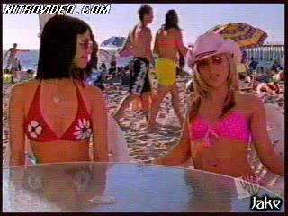 Beautiful Babes Shelly Cole and Teal Redmann Having Fun In Bikini