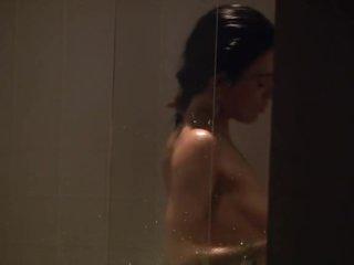 Hot Jaime Murray Taking a Shower