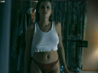 Julie Cialini Looking Hot With a Belt and a White Top