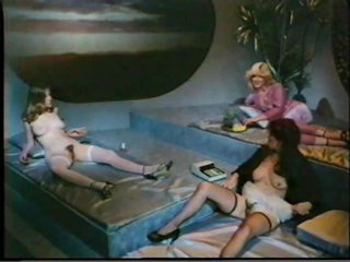 Lucky Bastard Fucks and Creampies Hot Babes in a Wild Vintage Orgy