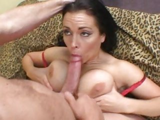 Outstanding bitch Angelica Sin gives this dick a tit wank