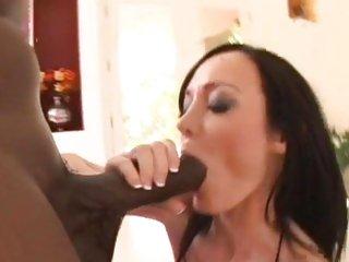 Seductive Melissa Lauren sucks Lex Steele's prick