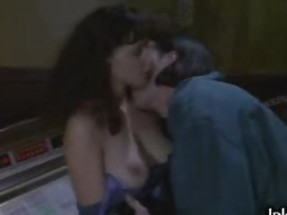 Busty Brunette Candellyn Hoffman Gets Fucked On a Chair in a Sex Scene