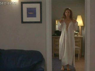 Heart-Stopping Blonde Sweetheart Alex Kingston Shows Her Bush and Boobs