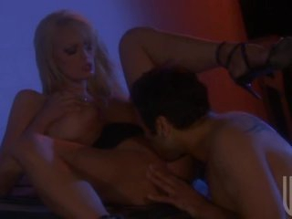 Outdoors Night Sex With Breasty Blonde Stormy Daniels