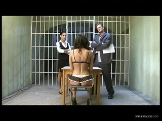 Lucy Lee's Final Request Is A Threesome With Vanessa May and a Big Cock