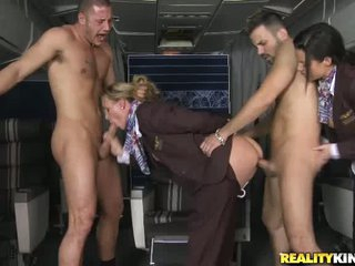 Anal loving stewardesses Veronica Avluv and Tanya Tate
