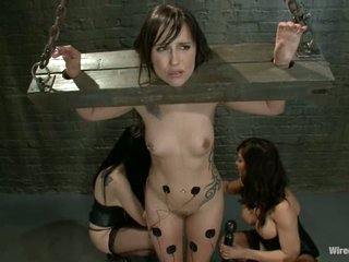 Isis Love and January Seraph torture a hawt chick