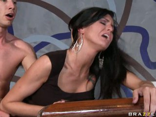 Sea J Raw gets a admirable hard fucking from a real mean hard cock.