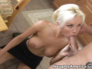 Lustful whore Brandi craves a big massive pole to go into her dripping love tunnel