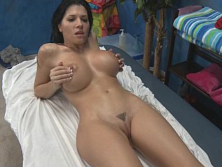 Rebecca gets fucked very hard after massage