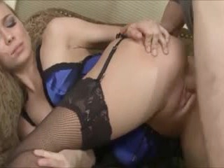 Sexy pornstar Capri Anderson lingerie sex