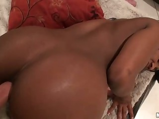 His busty black girlfriend ed Persia has wonderful round ass. She was made for ass fucking. he sued his stiff dick to drill her bumhole doggy style in front of the camera.