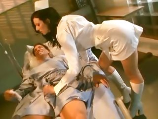 Ava Rose fucks her patient in his hospital bed