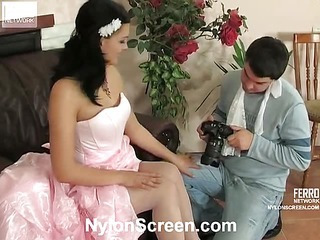 Laura&Adam sexy nylon video