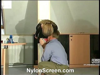 Ninette&Adrian mindblowing nylon action