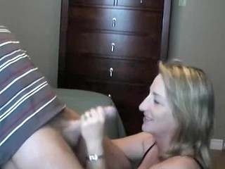 Wife Satisfies Horny Husband