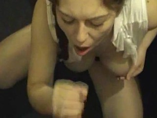Slutty bitch wants cum in her mouth