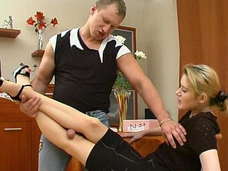 Ninette&Adrian great nylon feet clip
