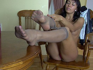 Margo in great hose clip