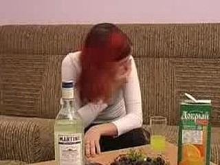 Drunk masturbation