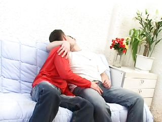 gay love on the couch