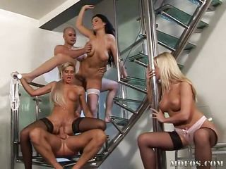 orgy on the stairways