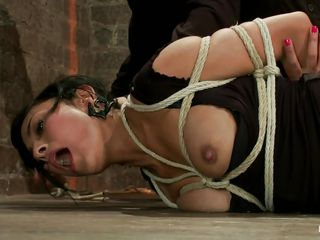 hot brunette milf gets punished