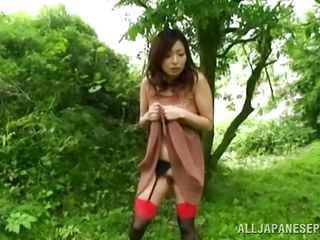 tied to the tree and fucked deeply