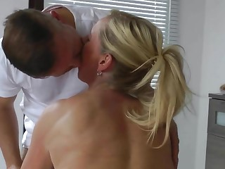 Hot Euro Cougar Massage and Fuck