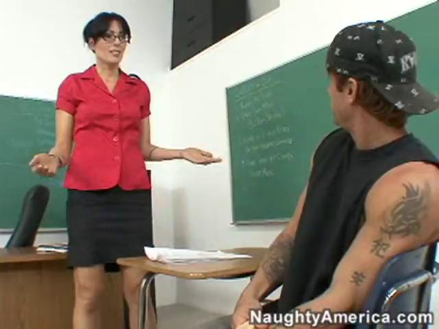 Horny Aged Teacher Pounded After Class
