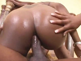 Dark girls are all about the anal sex