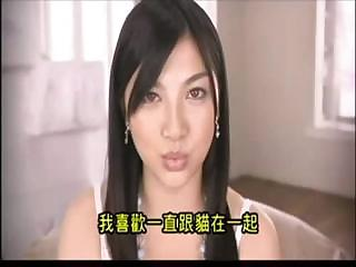 Beautiful Asian girl shows off her body and sucks and fucks